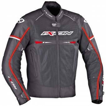 Motorcycle Jackets Ixon Pitrace Black White Red