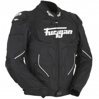 Motorcycle Jackets Furygan Raptor Black White
