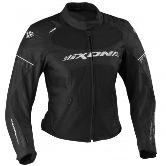 Motorcycle Jackets Ixon Sierra Black White
