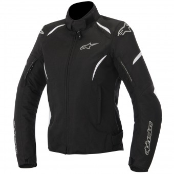 Motorcycle Jackets Alpinestars Stella Gunner Waterproof Black White