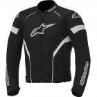 Motorcycle Jackets Alpinestars T-GP Plus R Air Black White