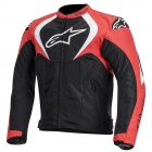 Motorcycle Jackets Alpinestars T-Jaws Air Black Red White