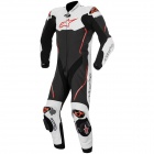 Leather Motorcycle Suits Alpinestars Atem Suit Black White Red