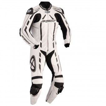 Leather Motorcycle Suits Ixon Pulsar Air White Black