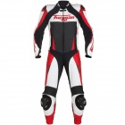 Leather Motorcycle Suits Furygan Full Apex White Red Black