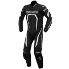 Leather Motorcycle Suits Alpinestars Motegi Suit Black White