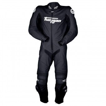 Leather Motorcycle Suits Furygan Prime Evo Black White