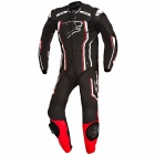 Leather Motorcycle Suits Bering Supra-R Black