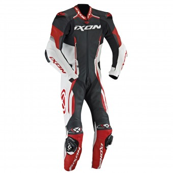 Leather Motorcycle Suits Ixon Vortex EPI Black White Red
