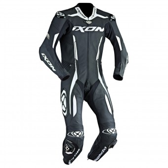 Leather Motorcycle Suits Ixon Vortex EPI Black White