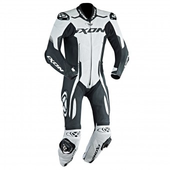 Leather Motorcycle Suits Ixon Vortex EPI White Black