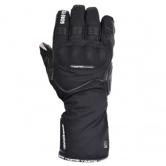Motorcycle Gloves V'Quattro Advance 2.1 Gore-Tex Black