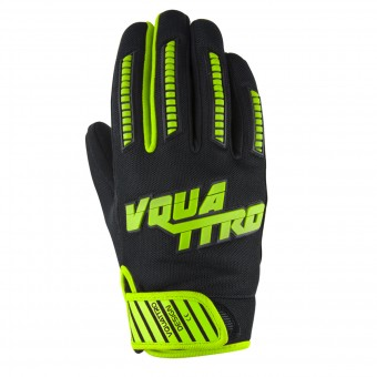 Motorcycle Gloves V'Quattro MX17 Green