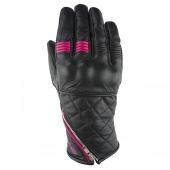 Motorcycle Gloves V'Quattro Murano Black Pink