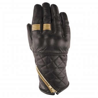 Motorcycle Gloves V'Quattro Murano White Brown