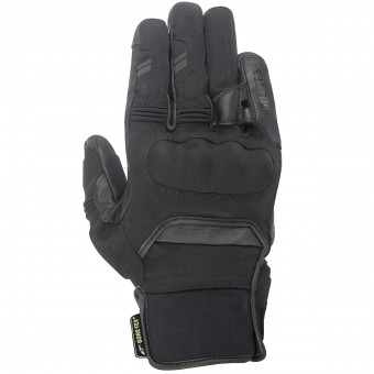 Motorcycle Gloves Alpinestars Polar Gore-Tex Black