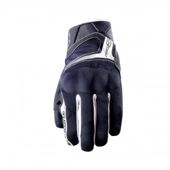 Motorcycle Gloves Five RS3 Kid Black White