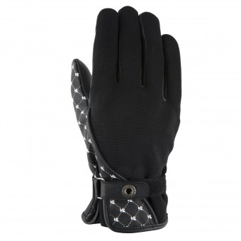 Motorcycle Gloves V'Quattro Roma Black