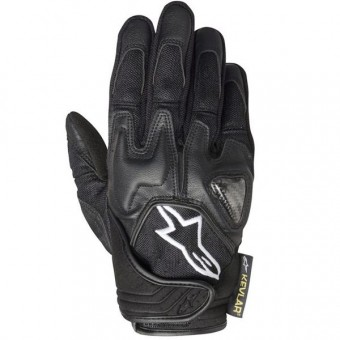 Motorcycle Gloves Alpinestars Scheme Black