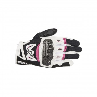 Motorcycle Gloves Alpinestars Stella SMX-2 Air Carbon V2 Fuchsia