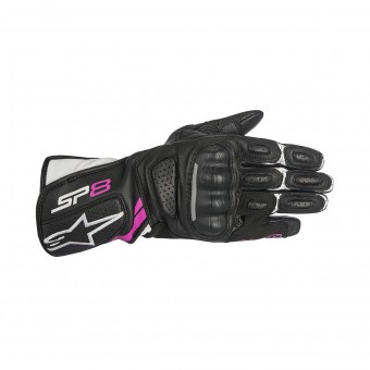 Motorcycle Gloves Alpinestars Stella SP-8 V2 Fuchsia