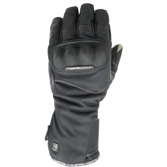 Motorcycle Gloves V'Quattro Turismo Gore-Tex Black