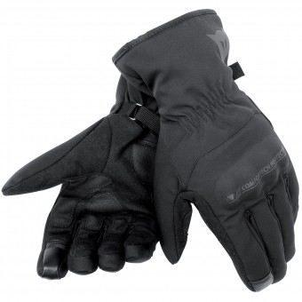 Motorcycle Gloves Dainese Alley Unisex D-Dry Black