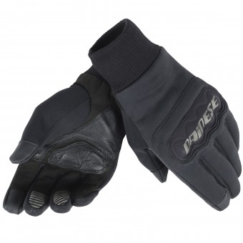 Motorcycle Gloves Dainese Anemos Windstopper Black