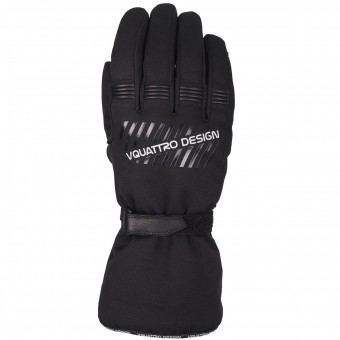 Motorcycle Gloves V'Quattro Core 16 Black
