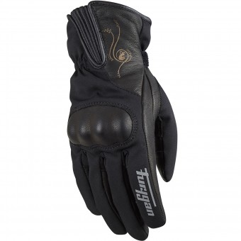 Motorcycle Gloves Furygan Eva D3O Black