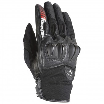 Motorcycle Gloves Furygan Graphic Evo Black