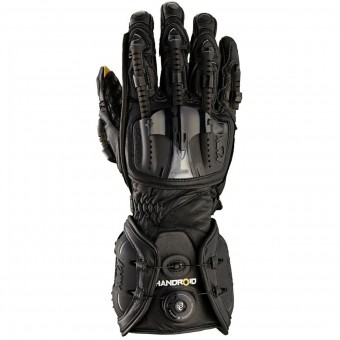 Motorcycle Gloves Knox Handroid All Black