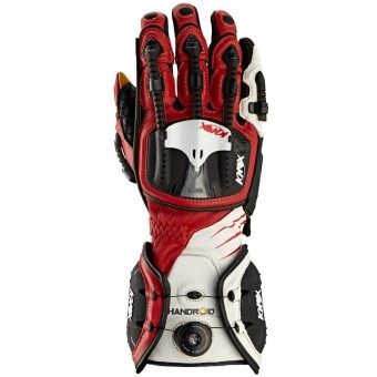 Motorcycle Gloves Knox Handroid Red