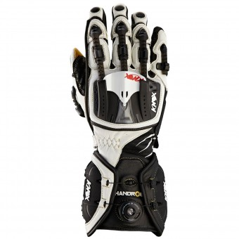 Motorcycle Gloves Knox Handroid White