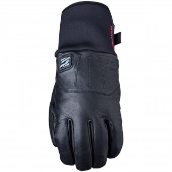 Motorcycle Gloves Five HG4 WP Chauffant Black