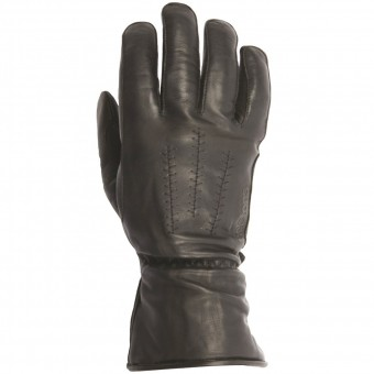 Motorcycle Gloves Helstons Jeff Leather Black