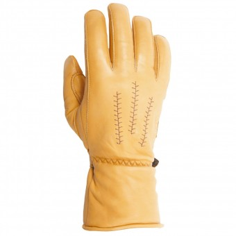 Motorcycle Gloves Helstons Jeff Leather Gold