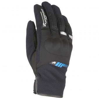 Motorcycle Gloves Furygan Jet All Season Black Blue