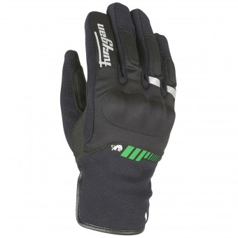Motorcycle Gloves Furygan Jet All Season Black Green