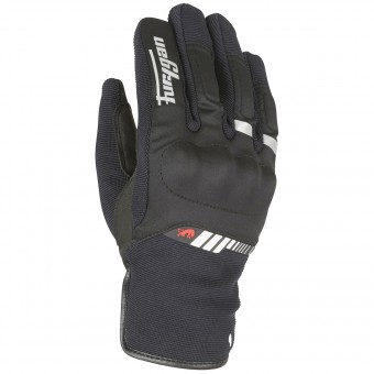 Motorcycle Gloves Furygan Jet All Season Black White