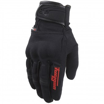 Motorcycle Gloves Furygan Jet Evo II Black Red