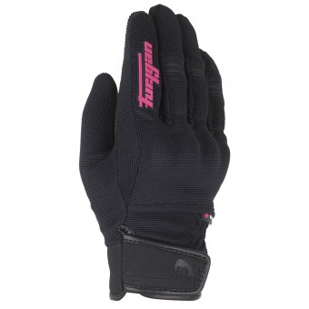 Motorcycle Gloves Furygan Jet Evo Lady Kid Black Pink
