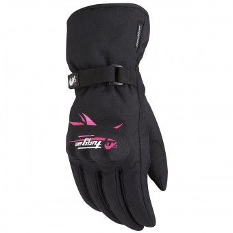 Motorcycle Gloves Furygan Origami Lady Black Pink