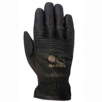 Motorcycle Gloves Alpinestars Oscar Portland Drystar Black