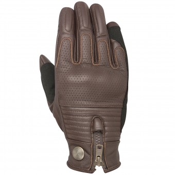 Motorcycle Gloves Alpinestars Oscar Rayburn Tobacco Brown