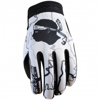 Motorcycle Gloves Five Planet Patriot Kid Corsica