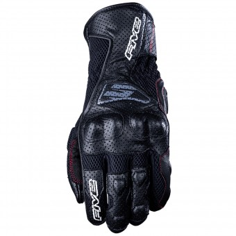 Motorcycle Gloves Five RFX4 Airflow Black