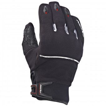 Motorcycle Gloves Ixon Rs Dry Hp Black White Red