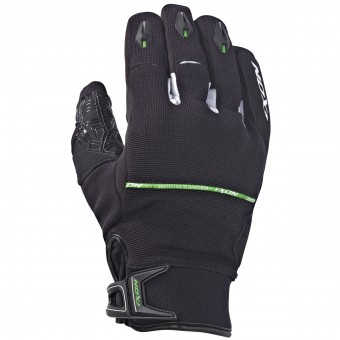 Motorcycle Gloves Ixon Rs Dry Hp Black White Green