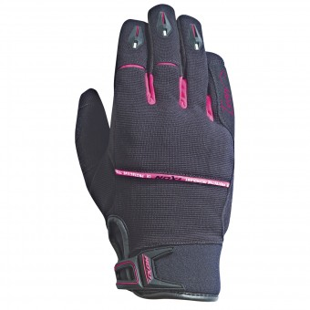 Motorcycle Gloves Ixon RS Dry Lady HP Black Fuschia
